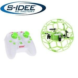 s-idee® 17100 S70 Quadrocopter im Käfig Flipfunktion u.v.m. Drohne 4 Kanal!